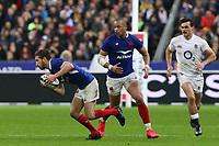 2nd February 2020, Stade de France, Paris; France, 6-Nations International rugby union, France versus England;  Vincent Rattez (France) gets away into open field