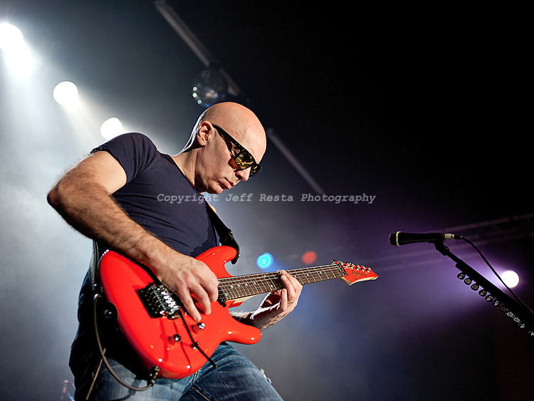 Joe Satriani live concert at the Granada Theater on January 18, 2011 in Dallas, TX.