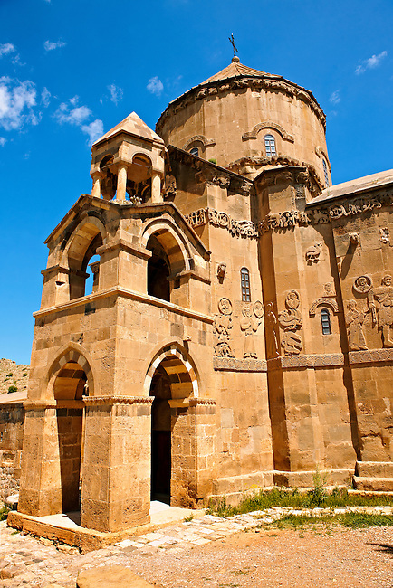 10th century Armenian Orthodox Cathedral of the Holy Cross on Akdamar Island, Lake Van Turkey 77