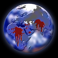 Guerre nel mondo. Wars in the world.......