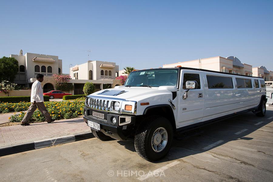 Jumeirah. Stretch Hummer for a Harem.