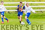 John Touhy Killorglin cuts through the Murroe defence during the u12 FAI cup in Killorglin on Saturday