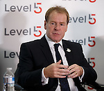 Murdo MacLeod at the launch of Level5 PR in Glasgow
