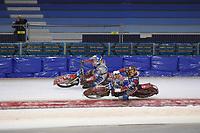 MOTORSPORT: HEERENVEEN: IJsstadion Thialf, 06-04-2018, WK IJsspeedway training, ©foto Martin de Jong