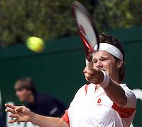 19-8-07, Amsterdam, Tennis, Nationale Tennis Kampioenschappen 2007, Nick van der Meer
