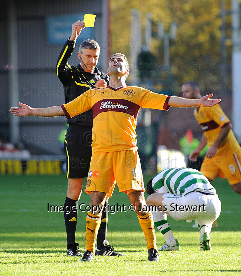 MOTHERWELL'S KEITH LASLEY CAN'T BELIEVE HE'S BEEN BOOKED