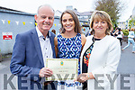 Niamh McMahon celebrating her graduation from Mercy Mounthawk on Friday in St Johns with her parents Joe and Mary McMahon