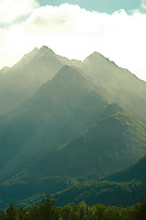 Pioneer Peak, Alaska.