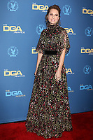 LOS ANGELES - FEB 2:  Marina de Tavira at the 2019 Directors Guild of America Awards at the Dolby Ballroom on February 2, 2019 in Los Angeles, CA