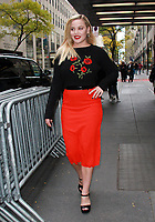 NEW YORK, NY - NOVEMBER 10: Abbie Cornish seen after an appearance on New York Live in New York City on November 10, 2017. <br /> CAP/MPI/RW<br /> &copy;RW/MPI/Capital Pictures