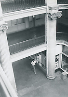 UNDATED..Conservation.Downtown West (A-1-3)....Interior Monticello Arcade...NEG#.NRHA#..