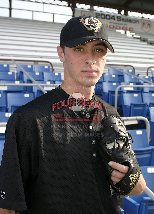 September 3, 2004:  Pitcher Derek Hankins of the Williamsport Crosscutters during a game at Bowman Field in Williamsport, PA.  Williamsport is the Short Season Single-A NY-Penn League affiliate of the Pittsburg Pirates.  Photo By Mike Janes/Four Seam Images
