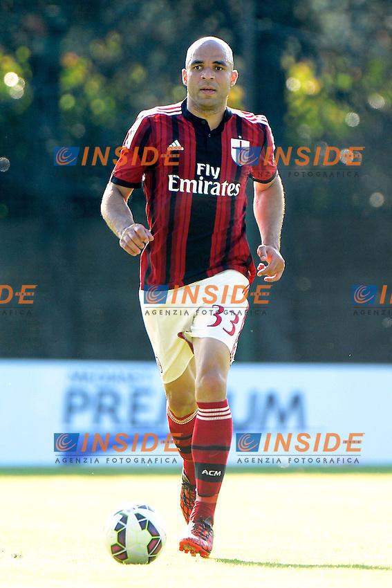 Alex Milan<br /> Solbiate Arno 16-07-2014 Stadio Felice Chinetti - Football 2014/2015 amichevole. Milan - Renate Foto Giuseppe Celeste / Insidefoto