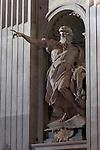 St Elijah, St Elias, Agostino Cornacchini 1727, Apse entrance, St Peter's Basilica, Rome
