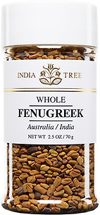 30608 Fenugreek, Small Jar 2.5 oz, India Tree Storefront