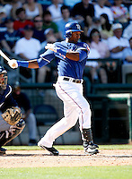 Julio Borbon - Texas Rangers - 2009 spring training.Photo by:  Bill Mitchell/Four Seam Images