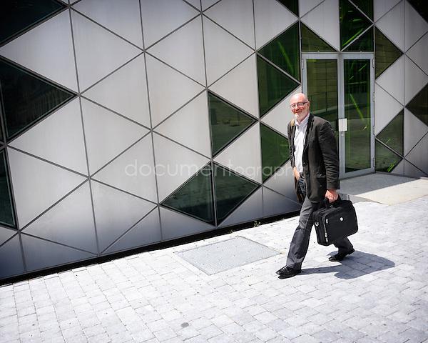 copyright: Magali Corouge/Documentography.Saint Etienne, the 2nd of June 2010..Mister Raymond Joassard.