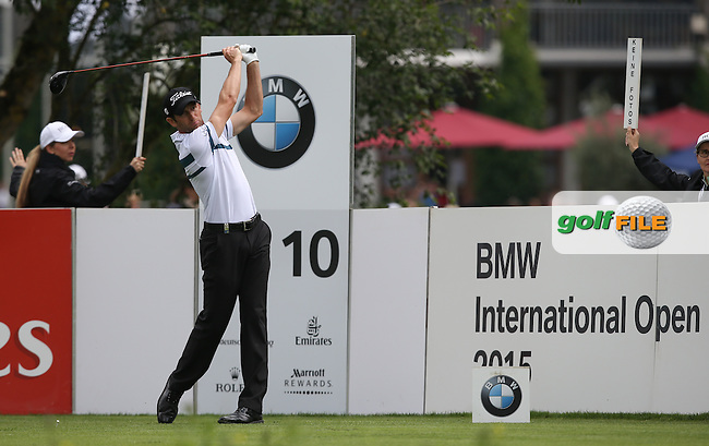 Gregory Bourdy (FRA) during Round Three of the 2015 BMW International Open at Golfclub Munchen Eichenried, Eichenried, Munich, Germany. 27/06/2015. Picture David Lloyd | www.golffile.ie