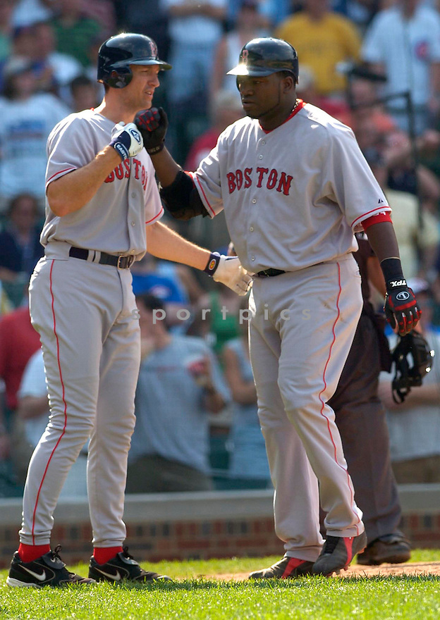 David Ortiz during the Boston Red Sox v. Chicago Cubs game on June 10, 1005..Cubs win 14-6..David Durochik / SportPics