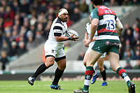 John Afoa of Bristol Bears in possession. Gallagher Premiership match, between Leicester Tigers and Bristol Bears on April 27, 2019 at Welford Road in Leicester, England. Photo by: Patrick Khachfe / JMP