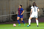 Spanish Women's Football League Iberdrola 2017/18 - Game: 9.<br /> FC Barcelona vs Madrid CFF: 7-0.<br /> Ruth Garcia vs Saray Garcia.