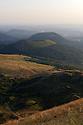 16/07/15 - SOMMET DU PUY DE DOME - PUY DE DOME - FRANCE - Vue Nord de la Chaine des Puys - Photo Jerome CHABANNE