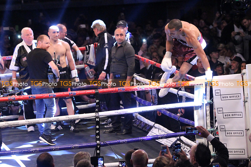 Chris Eubank Jr vs Arthur Abraham during a Boxing Show at the SSE Arena, Wembley on 15th July 2017
