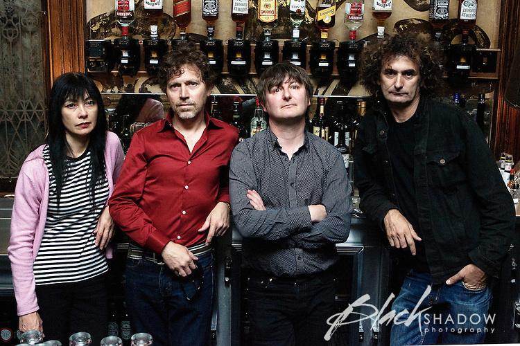 The Scientists photo shoot, Melbourne, April 2007.