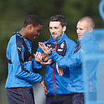 Nathan Oduwa, Nicky Clark and Kenny Miller