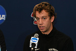 10 December 2009: Senior forward Zach Schilawski. The Wake Forest University Demon Deacons held a press conference at WakeMed Soccer Stadium in Cary, North Carolina on the day before playing Virginia in an NCAA Division I Men's College Cup semifinal game.