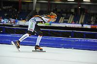 SCHAATSEN: HEERENVEEN: 25-10-2014, IJsstadion Thialf, Marathonschaatsen, KPN Marathon Cup 2, Lisa van der Geest (#38), ©foto Martin de Jong