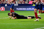 Atletico de Madrid's Jan Oblak during La Liga match between Atletico de Madrid and SD Huesca at Wanda Metropolitano Stadium in Madrid, Spain. September 25, 2018. (ALTERPHOTOS/A. Perez Meca)