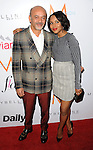 Kerry Washington and Christian Louboutin arriving at the First Annual The Daily Front Row Fashion Los Angeles Awards held at Sunset Tower Hotel Los Angeles Ca. January 22, 2015