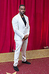 © Licensed to London News Pictures . 16/05/2015 .  The Palace Hotel , Manchester , UK . RICHARD BLACKWOOD . The red carpet at the 2015 British Soap Awards , The Palace Hotel , Oxford Road , Manchester . Photo credit : Joel Goodman/LNP