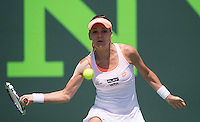 AGNIESZKA RADWANSKA (POL)<br /> <br /> Tennis - Sony Open -  Miami -   ATP-WTA - 2014  - USA  -  26 March 2014. <br /> <br /> &copy; AMN IMAGES