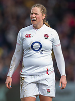 England Women's Amber Reed<br /> <br /> Photographer Bob Bradford/CameraSport<br /> <br /> 2020 Women's Six Nations Championship - England v Wales - Saturday 7th March 2020 - The Stoop - London<br /> <br /> World Copyright © 2020 CameraSport. All rights reserved. 43 Linden Ave. Countesthorpe. Leicester. England. LE8 5PG - Tel: +44 (0) 116 277 4147 - admin@camerasport.com - www.camerasport.com