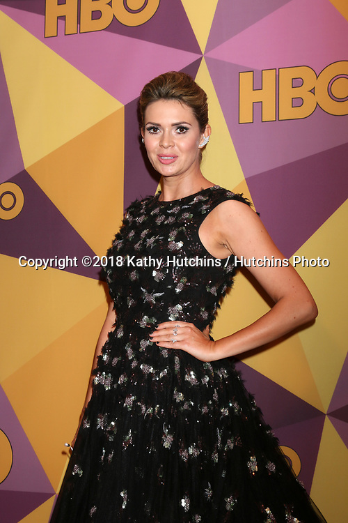 LOS ANGELES - JAN 7:  Carly Steel at the HBO Post Golden Globe Party 2018 at Beverly Hilton Hotel on January 7, 2018 in Beverly Hills, CA
