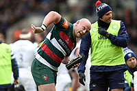 Dan Cole of Leicester Tigers. Gallagher Premiership match, between Leicester Tigers and Bristol Bears on April 27, 2019 at Welford Road in Leicester, England. Photo by: Patrick Khachfe / JMP