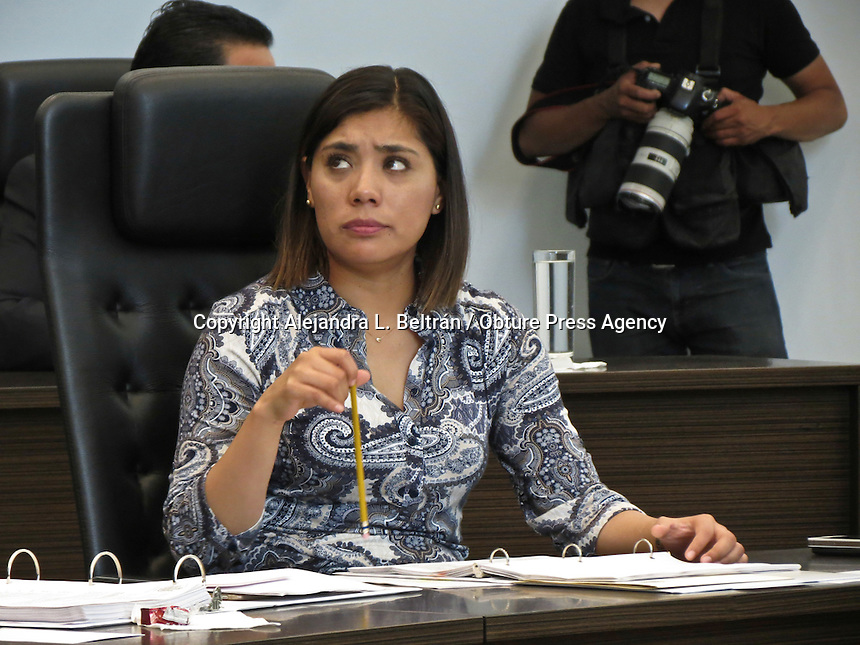 Querétaro, Qro. 25 de mayo 2016. Alejandro Echeverría Cornejo, procurador general del estado, fue designado hoy por el congreso local como nuevo Fiscal General del Estado de Querétaro. Foto: Alejandra L. Beltrán / Obture Press Agency