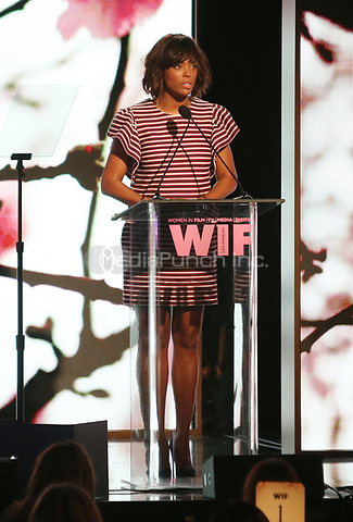 BEVERLY HILLS, CA June 13- Aisha Tyler, at Women In Film 2017 Crystal + Lucy Awards presented by Max Mara and BMW_Show at The Beverly Hilton Hotel, California on June 13, 2017. Credit: Faye Sadou/MediaPunch
