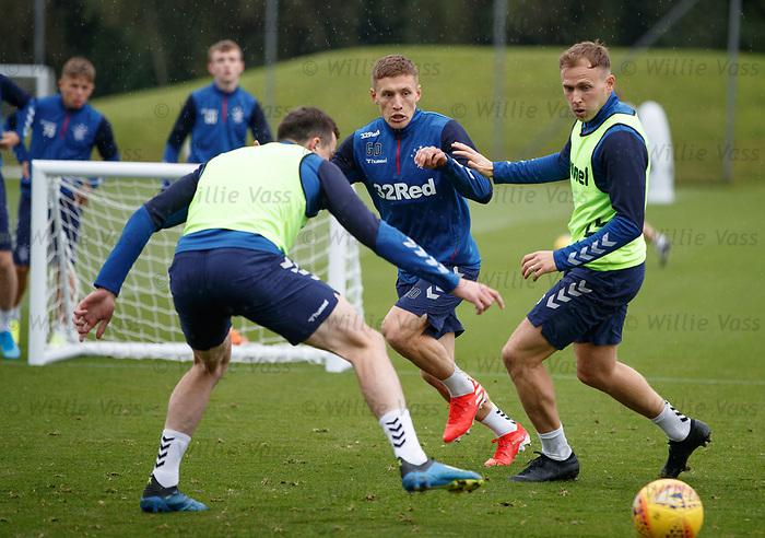 30.08.2019 Rangers training: Greg Docherty and Greg Stewart