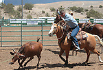 Images from the branding event at the Minden Ranch Rodeo on Sunday, July 22, 2012. .Photo by Cathleen Allison