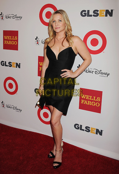 BEVERLY HILLS, CA- OCTOBER 17: Actress Jessica Capshaw  arrives at the 10th Annual GLSEN Respect Awards at the Regent Beverly Wilshire Hotel on October 17, 2014 in Beverly Hills, California.<br /> CAP/ROT/TM<br /> &copy;Tony Michaels/Roth Stock/Capital Pictures