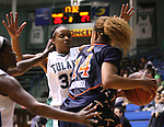The Tulane Lady Green Wave Basketball Team battle the UTEP Miners in Fogelman Arena. Tulane defeated UTEP 57-47 and improved their record to 15-4.