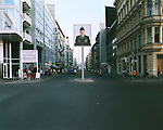 Checkpoint Charlie (Looking West), Berlin, Germany, August 2004