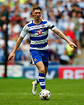 George Evans of Reading during the SkyBet Championship Play Off Final match at the Wembley Stadium, England. Picture date: May 29th, 2017.Picture credit should read: Matt McNulty/Sportimage