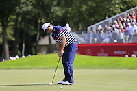 Patrick Reed US Team on the 11th green during Thursday's Practice Day of the 41st RyderCup held at Hazeltine National Golf Club, Chaska, Minnesota, USA. 29th September 2016.<br /> Picture: Eoin Clarke | Golffile<br /> <br /> <br /> All photos usage must carry mandatory copyright credit (&copy; Golffile | Eoin Clarke)