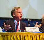 April 19, 2012 - Hempstead, New York, U.S. - Governor HOWARD DEAN III is a panelist at ?Change in the White House? symposium at Hofstra University, Long Island. Gov. Howard B. Dean III is a former Democratic National Committee Chairman, presidential candidate, six term Governor of Vermont, and physician.