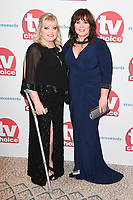Linda and Coleen Nolan<br /> arriving for the TV Choice Awards 2017 at The Dorchester Hotel, London. <br /> <br /> <br /> ©Ash Knotek  D3303  04/09/2017
