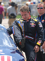 Apr 28, 2007; Talladega, AL, USA; Nascar Nextel Cup Series driver A.J. Allmendinger (84) during qualifying for the Aarons 499 at Talladega Superspeedway. Mandatory Credit: Mark J. Rebilas